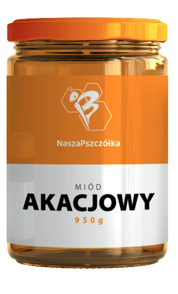 Miód Akacjowy 950g