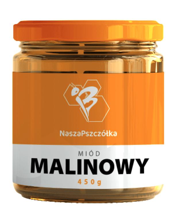 Miód Malinowy 400g